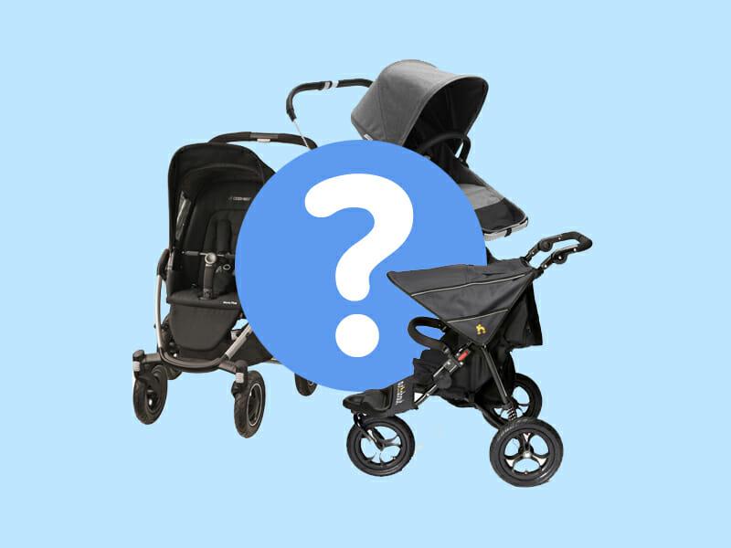 hoe kies je een kinderwagen